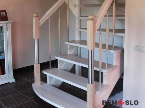 Деревянная лестница №9