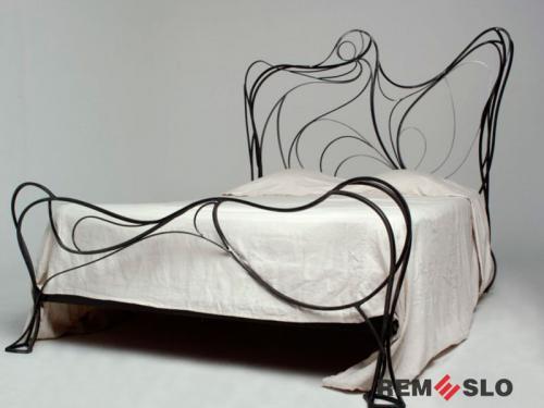 Кованая кровать №3