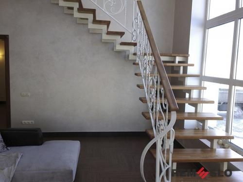 Кованая лестница №13