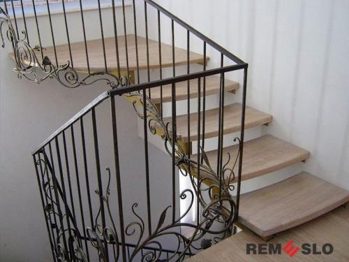 Кованая лестница №17