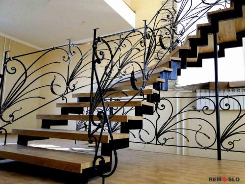 Кованая лестница №5 (2)