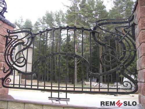 Кованый забор №2