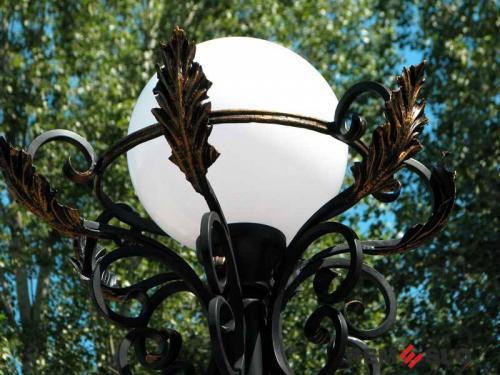 Кованый фонарь №11