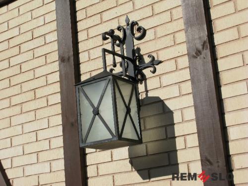Кованый фонарь №15