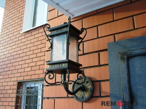 Кованый фонарь №19