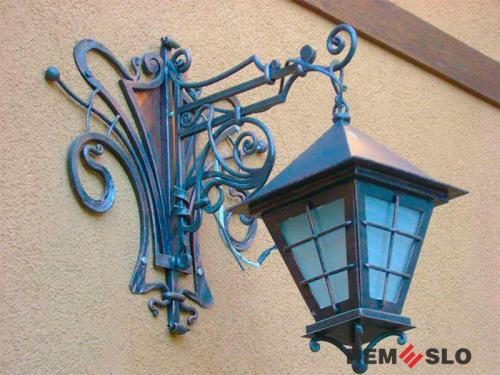 Кованый фонарь №2