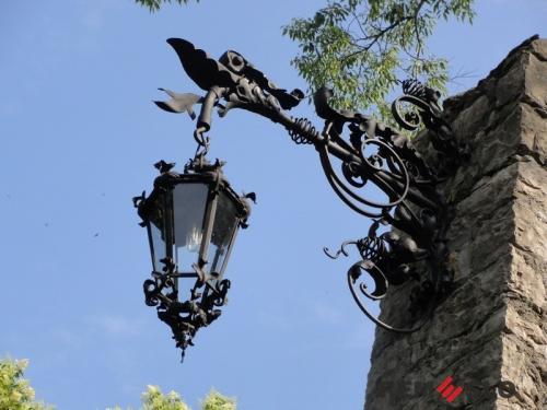 Кованый фонарь №9