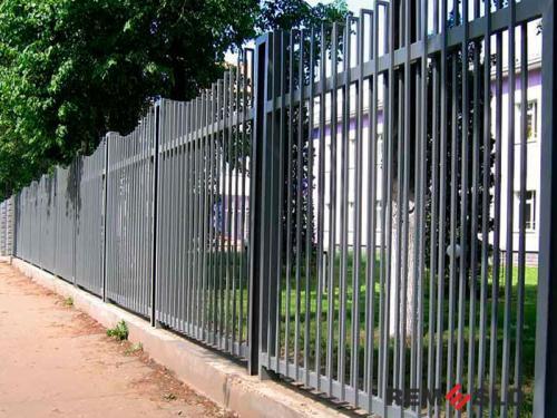 Металлический забор №11