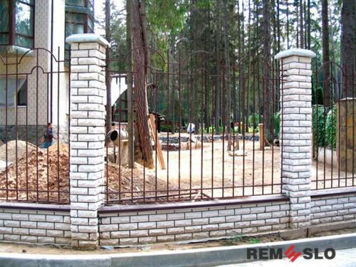 Металлический забор №15
