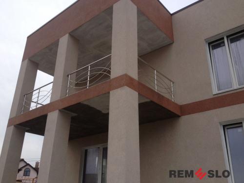 Ограждение балкона из нержавеющей стали №30