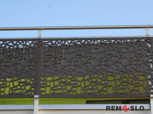 Ограждение балкона с лазерной резкой №2