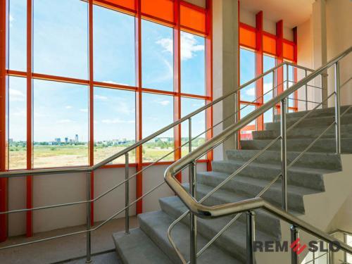 Ограждения лестниц из нержавеющей стали №019