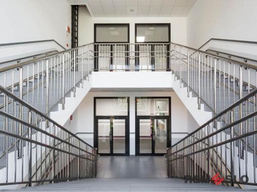 Ограждения лестниц из нержавеющей стали №024