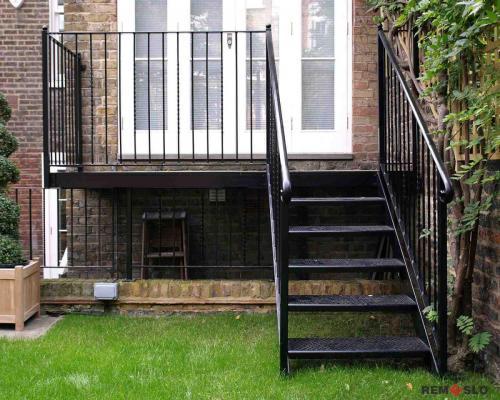 Уличная лестница №7