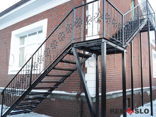 Уличная лестница №8